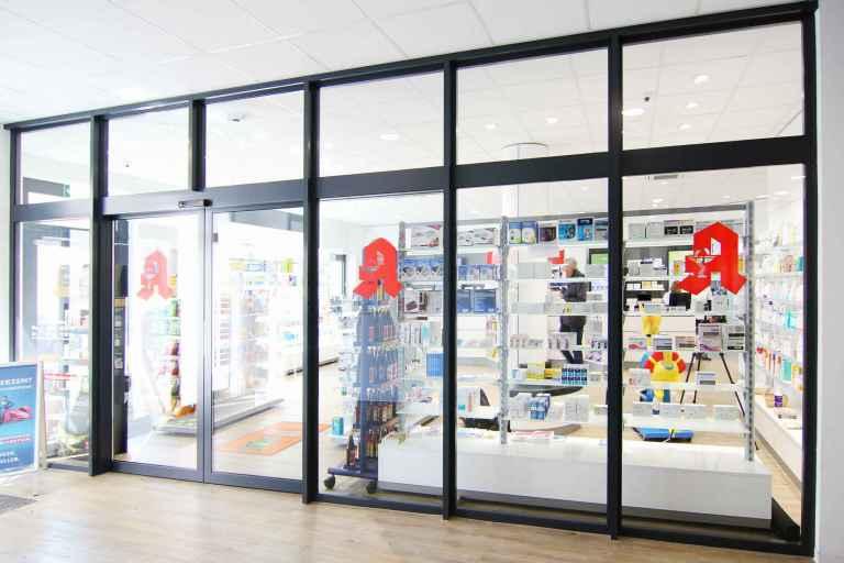 Apothekenbau Osthofen außen