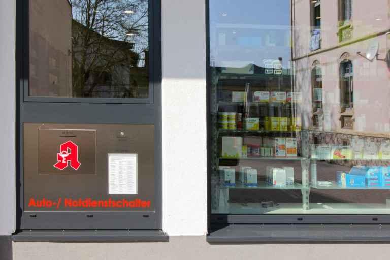Apothekenbau Osthofen Autoschalter